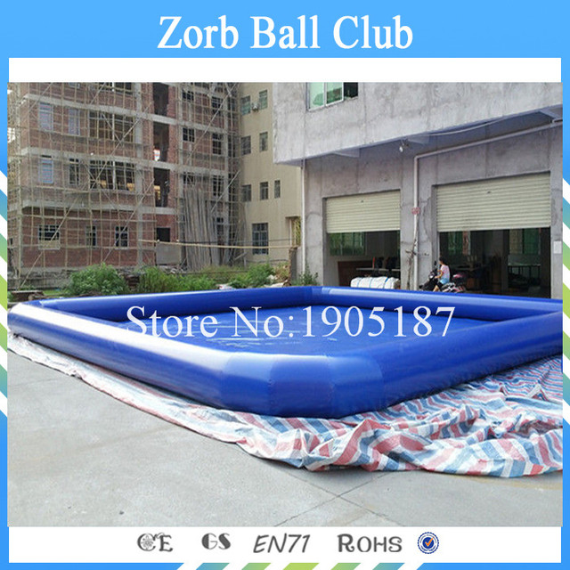 Free Shipping 8x8m Giant Inflatable Pool, Kids Swimming Pool, Large Inflatable  Pool For Sale