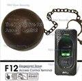 IP65 rated  Fingerprint Slave Access Control  ZKTeco F12 FR1200 Master for ZK F7 F18 TF1700 ZKFinger VX10.0 RS485 Communication