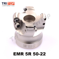 Free Shipping EMR 5R 50 22 4T Face Mill Milling Cutter Cnc Milling Tools For Round