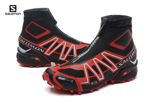 the best attitude f05bd b4c2f US $42.83 50% OFF|Salomon Snowcross Sneakers Men Outdoor Winter Sports  Shoes Jordan Men Speed Cross 3 CS Black Red Male Fencing Shoes Eur 40 46-in  ...