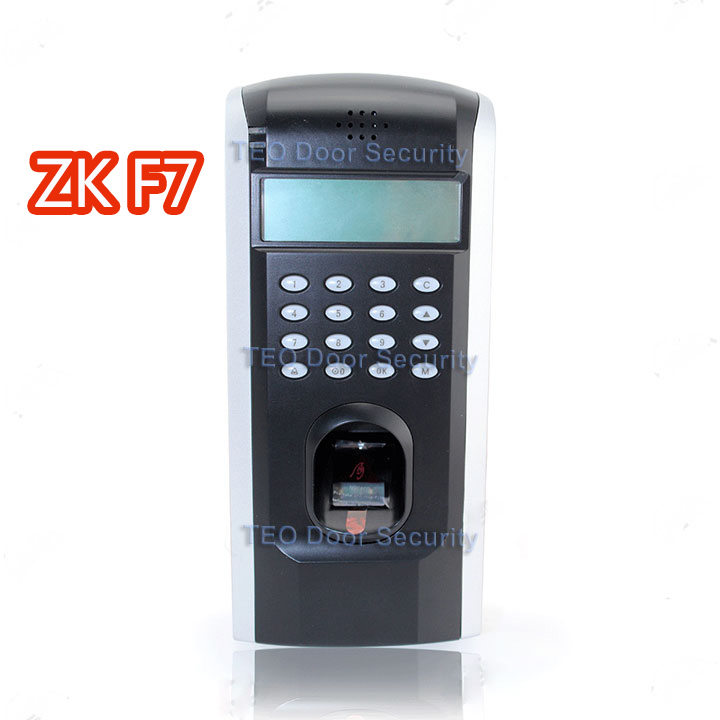 ZK F7 TCP/IP Keypad Attendance Biometric Fingerprint Time Clock Access Control k14 zk biometric fingerprint time attendance system with tcp ip rfid card fingerprint time recorder time clock free shipping