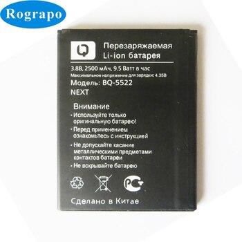 New 2500mAh BQ-5522 Replacement Battery For BQ BQS BQs-5522 BQ5522 NEXT / BQ-5500L ADVANCE Original Smart Phone Acumulator смартфон bq bqs 5030 fresh rose gold