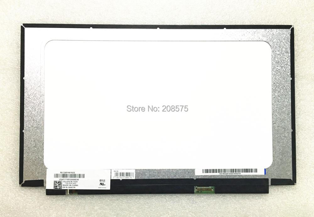 Free Shipping NV156FHM-N35 NV156FHM N35 Fit for DELL 15-7560 15 7560 DP/N 084V7R Laptop Lcd Screen 1920*1080 EDP 30pins IPS free shipping new original 13 3 laptop lcd led screen lq133m1jw01 1920 1080 30pins notebook display