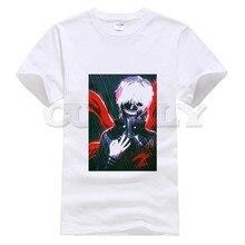 2019 suprem Cotton Tokyo Ghoul Men funny t shirts oggai Ken / Sasaki graphic shirt men tshirts fashions