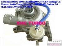 NEW K03/53039880009 Turbo Turbocharger for CITROEN Berlingo C5 Picasso Xantia Xsara,206 307 406 Partner DW10TD,2.0L 90HP