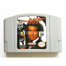 Nintendo 64 Игры GoldenEye 007 Видеоигры Картридж Консоли Карты Английский Язык Версия США