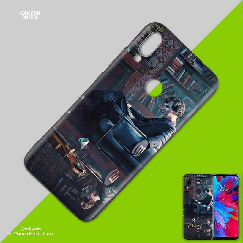 Силиконовый чехол для телевизора Шерлок Холмс для Xiao mi Red mi Note 7 7A 7S K20 Y3 6 6A S2 GO 5X 6X mi A1 A2 8 9T Play Lite Pro Poco F1