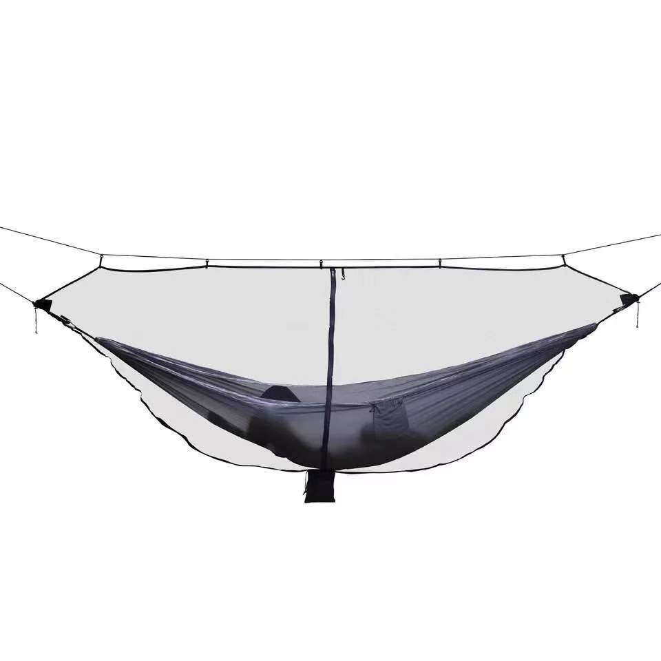 2019 New Style Cheap Travel Camping Double 2 Person Anti-mosquito Separate Hammock Meditation Mosquito Net