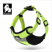 Truelove Outdoor Reflective No Pull Dog Harness Adjustable Easy on Vest Nylon Walking Dogs Collars and Harnesses