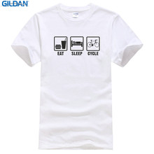 Letter Printing  Print O-Neck Short Sleeve Tee Easleep Cycle For Men floral letter print tee