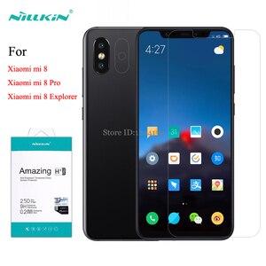Image 1 - Dành Cho Xiaomi Mi 8 Kính Cường Lực Nillkin Amazing H + Pro Chống Cháy Nổ Kính Cho Xiaomi mi 8 Pro Nhà Thám Hiểm