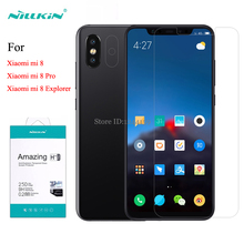 For Xiaomi Mi 8 Tempered Glass Screen Protector Nillkin Amazing H+Pro H Anti Explosion Glass film For Xiaomi Mi 8 Pro Explorer