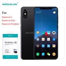Per Xiaomi Mi 8 pellicola proteggi schermo in vetro temperato Nillkin Amazing H + Pro pellicola in vetro antideflagrante per Xiaomi Mi 8 Pro Explorer