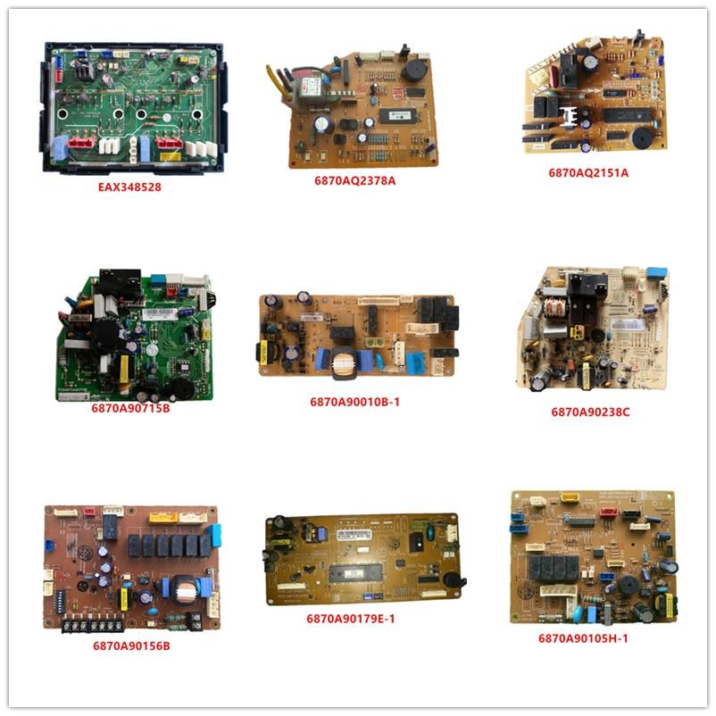EAX348528/ 6870AQ2378A/ 6870AQ2151A/ 6870A90179E-1/ 6870A90715B/ 6870A90010B-1/6870A90238C/ 6870A90156B/ 6870A90105H-1 Used Work