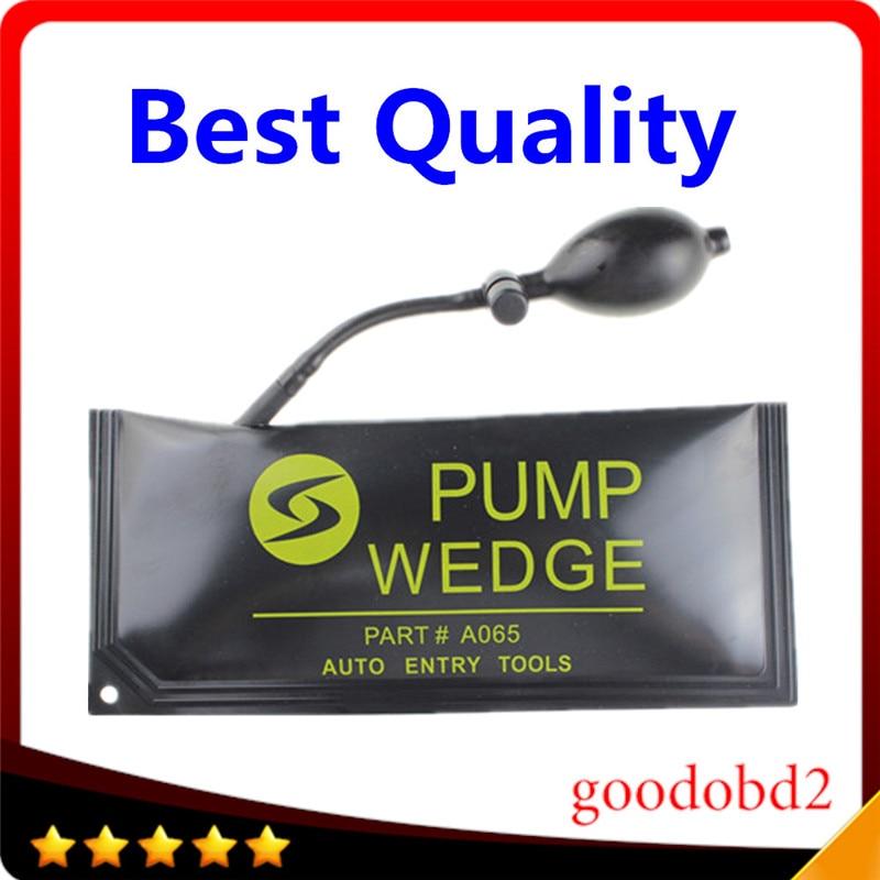 2017 Hot Selling Big KLOM PUMP WEDGE LOCKSMITH TOOLS Auto Air Wedge Lock Pick Open Car Door Lock Big Size Hardware Tools 28*12CM
