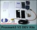 [RedStar] ELECHOUSE Proxmark3 V2 DEV kit NFC RFID reader инструмент исследования proxmark 3 promark3 mfoc карты клон трещины включая батарею