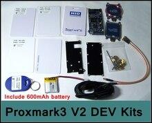 [RedStar] ELECHOUSE Proxmark3 V2 kits de DESARROLLO de Desarrollo lector de RFID nfc tarjeta herramienta última versión 2 mfoc clon grieta incluir la batería