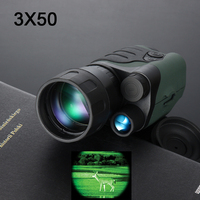 Gen1 day night vision sight 3X50 monocular infrared night vision goggles telescope for hunting night scope free shipping