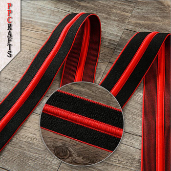 Elastic Ribbon Nylon Fold Over Elastic 30 40 50mm For Handwork Apparel Sewing & Fabric Edge Accessories BBXY-122