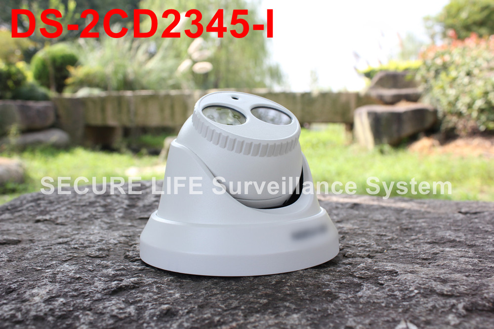 DS 2CD2345 I Multi language version 4MP CCTV font b camera b font 120dB EXIR CCTV
