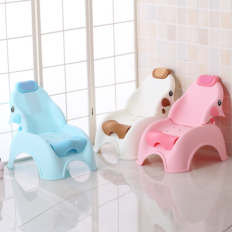 Children's Baby Shampoo Chair Folding Child Shampoo Bed Stool Convenient Kids Furniture  Toddler Chair