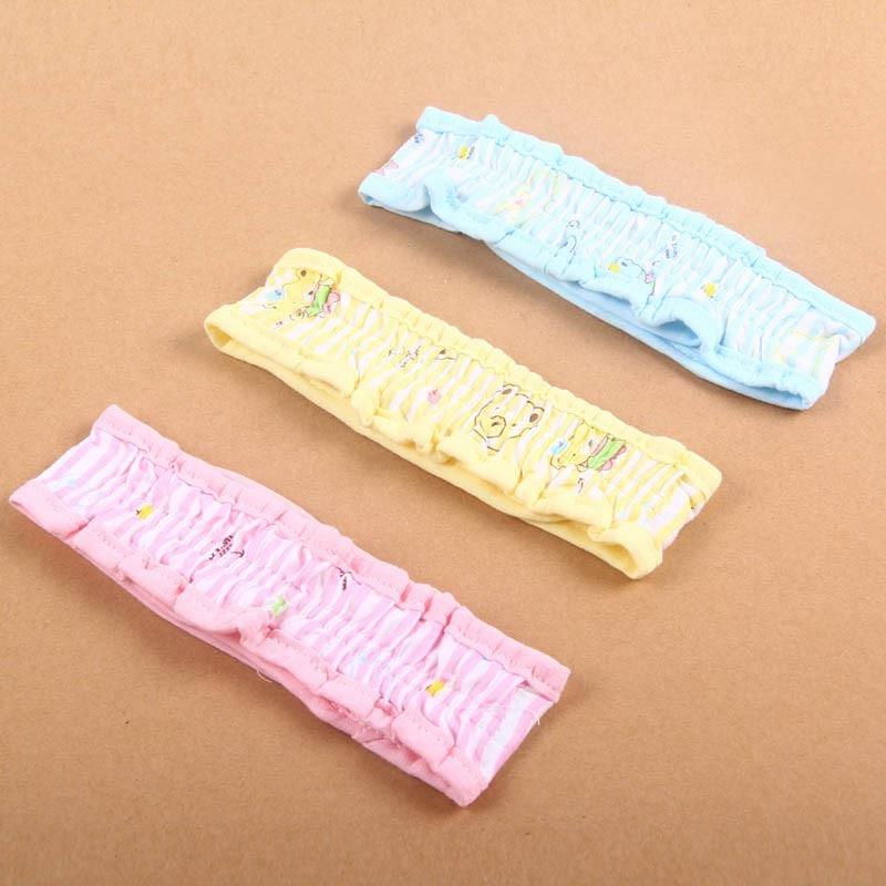 3 Colors Babies Diaper Cloth Belt Buckle 3 Pieces for Children with Plastic Connectors Q1