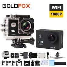 GOLDFOX 1080P HD WIFI Action Camera 12MP 30M Go Waterproof Pro Style Sport DV Video Camera Bike Helmet Cam Car Dvr