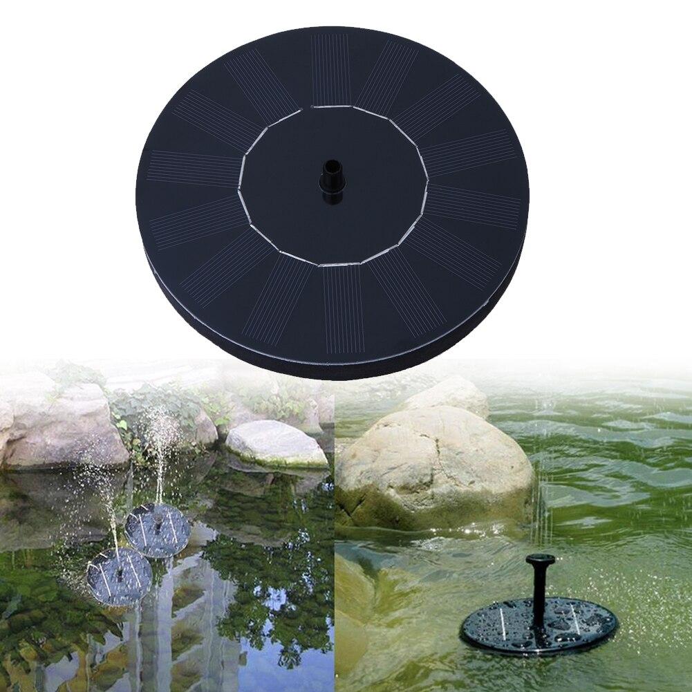 Solare Fontana Solare Pompa Fontana di Acqua per Garden Pool Pond Pompe Kit di Irrigazione Esterna Pannello solare per la Fontana di trasporto di goccia