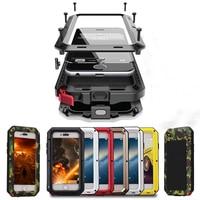 Antiurto Casse Del Telefono per il iPhone X XS Max 8 7 6 6S Plus 5 5S SE Impermeabile PC + TPU 3-Strati Hybrid Completa Protegge La Cassa di Coperture Del Telefono
