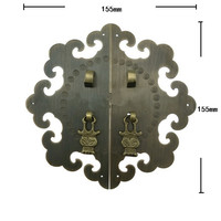 Brass Kitchen Drawer Cabinet Door Handle Furniture Knobs Hardware Cupboard Antique Pull Handles,Bronze Tone,155mm Dia.
