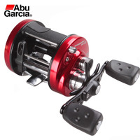 Abu Garcia Ambassadeur SX 6600/6601 Drum Reel 3+1BB 5.3:1 Bait Casting Fishing Reel 5.6KG Drum Coil Wheel Carretilha De Pesca
