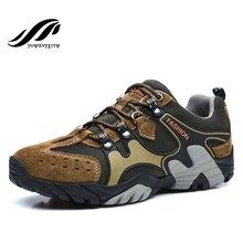 2016 Men hiking shoes brand sports sneakers Autumn/Winter mountain climbing shoes men trekking boots