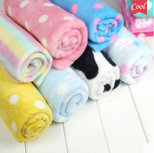 DIY Baby blanket pajamas Flannel Velvet Fabrics tissue felt bed sheet cloth dolls for bedding Pajamas