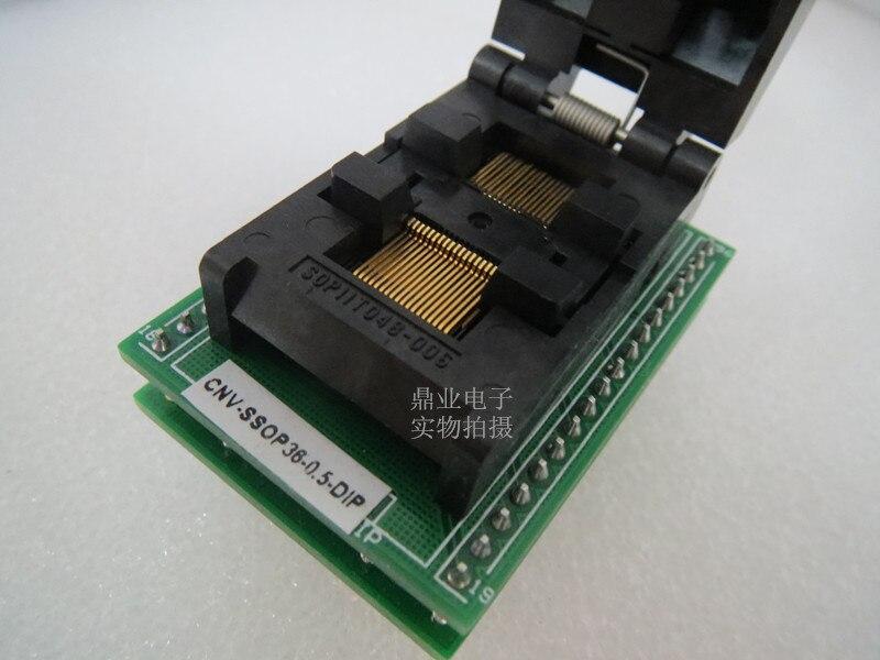 Adaptador de assento, 0.5mm, dimensões ssop36 dip,
