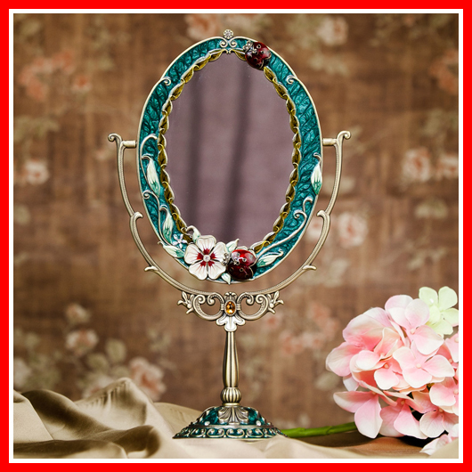 New Antique Mirror Vintage Beauty Makeup Mirror Cosmetic