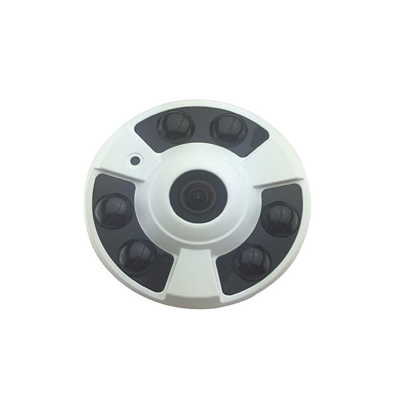 48 В POE широкоугольный Рыбий HD 5.0MP ip-камера Onivf H.265 безопасности P2P инфракрасного мониторинга сети Крытый ночного видения