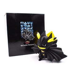Batman Pikachu Figure Batman Cos Pikachu Bruce Wayne Batman Comic 12CM PVC Action Figure Toy Collection Model Gift Free Shipping все цены