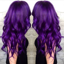 New Premium 100% PERMANENT HAIR DYE COLOR CREAM PURPLE VIOLET # A6 New.(China)