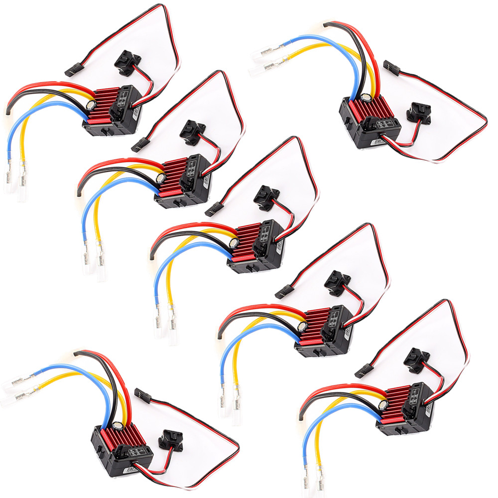 QuicRun 1 10 1 8 WP Crawler Brush Brushed 80A Electronic Speed Controller Waterproof ESC With