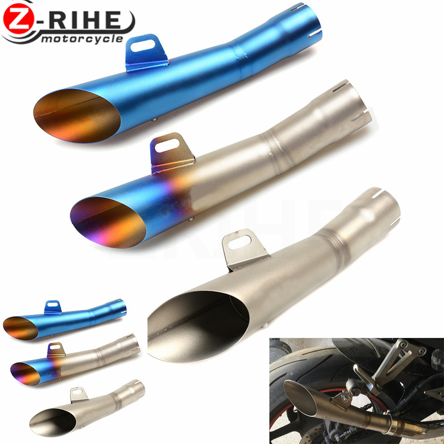for Universal 36-51mm Motorcycle Accessories cnc Exhaust Stainless Steel Motorbike Exhaust Pipe For YAMAHA YZF R1 2002 2003 /R10 universal 36 51mm motorcycle accessories cnc exhaust stainless steel motorbike exhaust pipe for ktm 690 enduro r 690 smc 2014 20