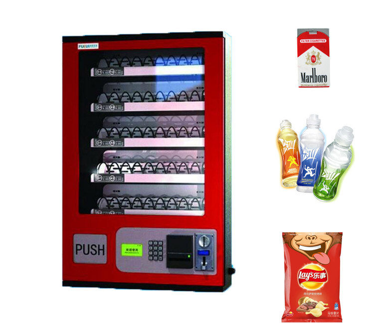 Automatic Small Snack Water Cigarette Vending Machine For Sale
