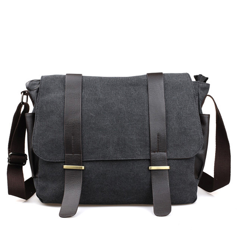 Original Korean shoulder bag/leisure Messenger bag/canvas travel packet/student crossbody schoolbags for teenage/panelled color free shipping 2014 boom bag leisure contracted one shoulder bag chain canvas bag