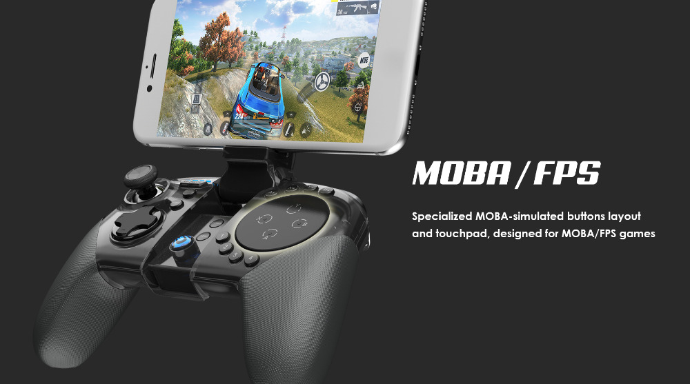 GS Power Trackpad Android & IOS Controller - Fortnite, Mobile Legends, PUBG  Gamepad