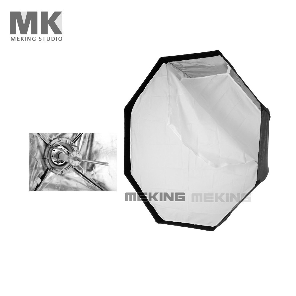 Meking photographic K120 Soft box 120cm/48in Octagon Softbox with Bowens Mount Quick Setup fotografo photographer meking octagon softbox 170cm 67 strobe mono light softbox with speed ring bowens mount for photographic