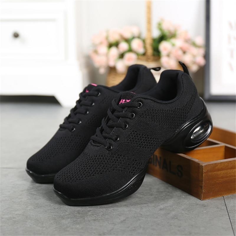 75d99b0356c90 Zapatillas de baile jazz slip on dance para mujer zapatos de baile Hip Hop  Jazz zapatillas de deporte para mujer