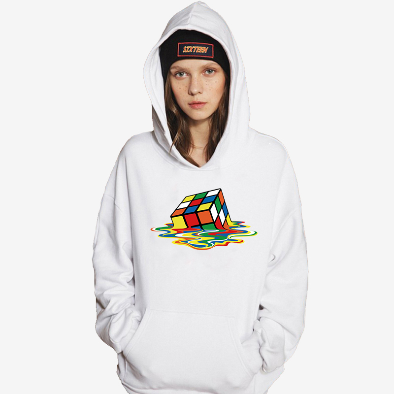 Reasonable Kyku Brand Rubiks Cube Sweatshirts Men Geometric Hoodes 3d Colorful Hoodie Print Squared Hoody Anime Psychedelic Hooded Casual High Quality Goods Men's Clothing