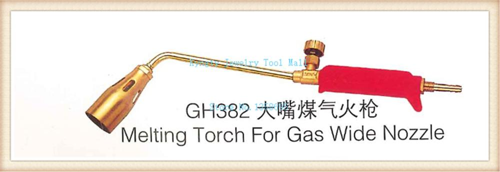 Gas Torch Kit For Melting Brazing Gold Silver Copper Wide Nozzle