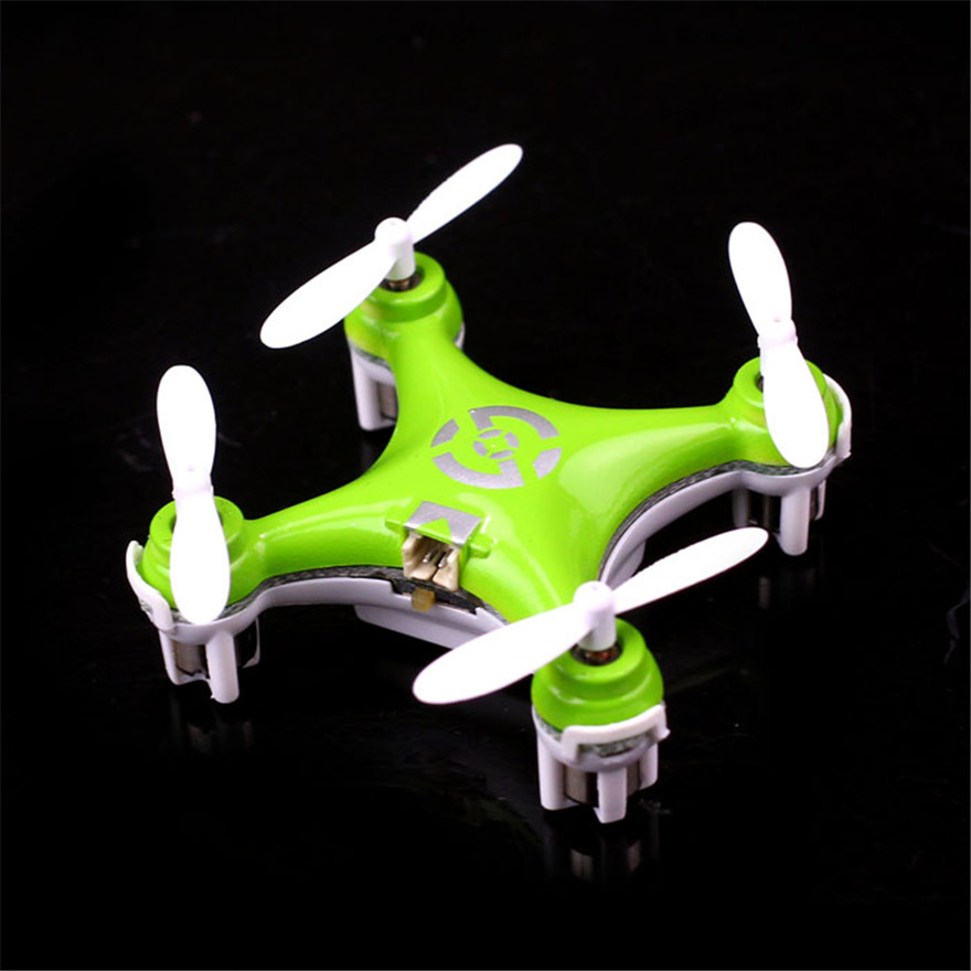 High Quqlity Cheerson CX-10 Mini 2.4G 4CH 6 Axis LED RC Quadcopter Airplane Gift For Children Toys Wholesale Free Shipping