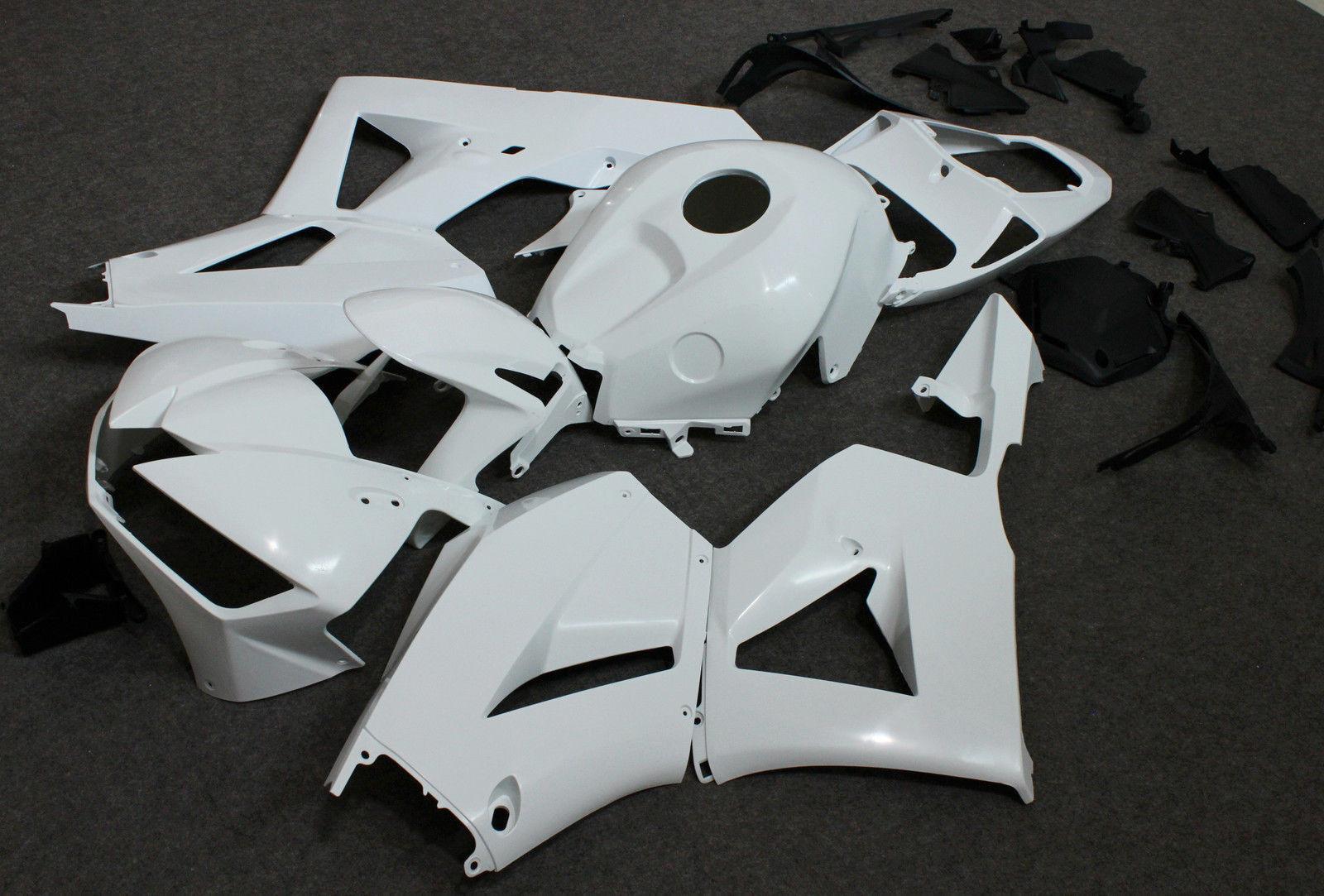 ABS White Bodywork Fairing Molded UNPAINTED Kit for HONDA CBR 600RR CBR600RR 2013 2014 2015 13 14 15 Motorcycle unpainted abs injection mold bodywork fairing kit for honda cbr600rr 2013 13 new
