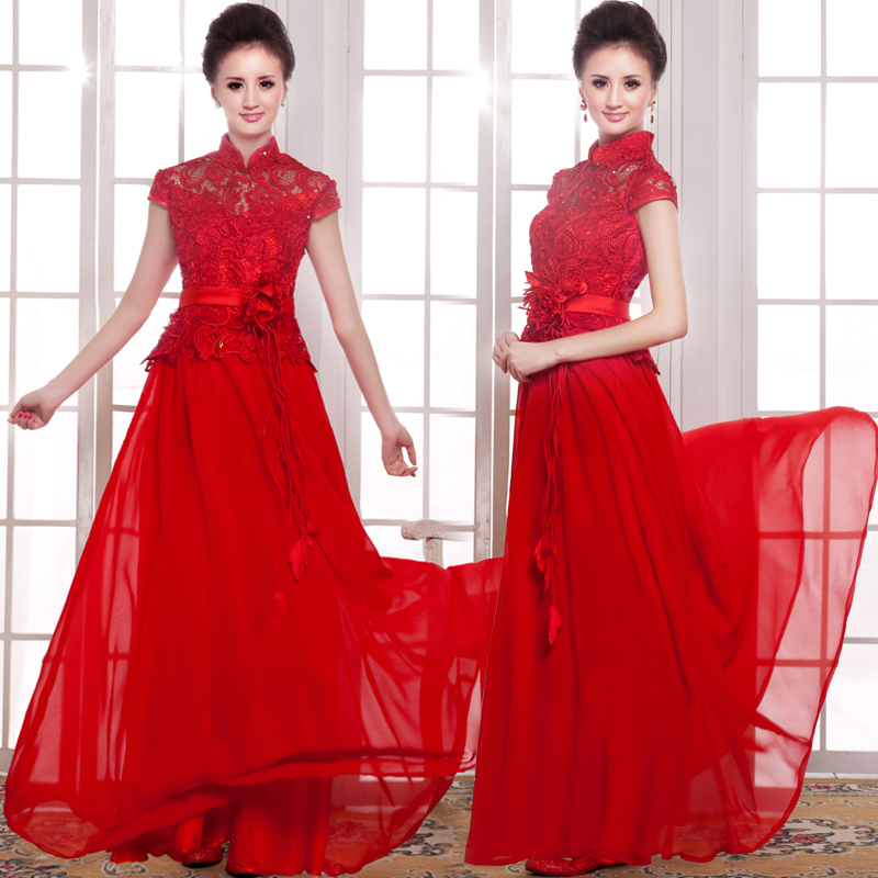 Asian style party dress